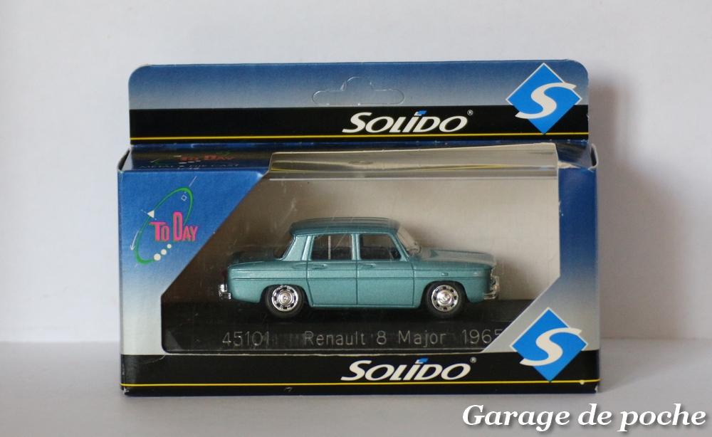 Renault 8 Major 1965 Garage De Poche Voitures Miniatures