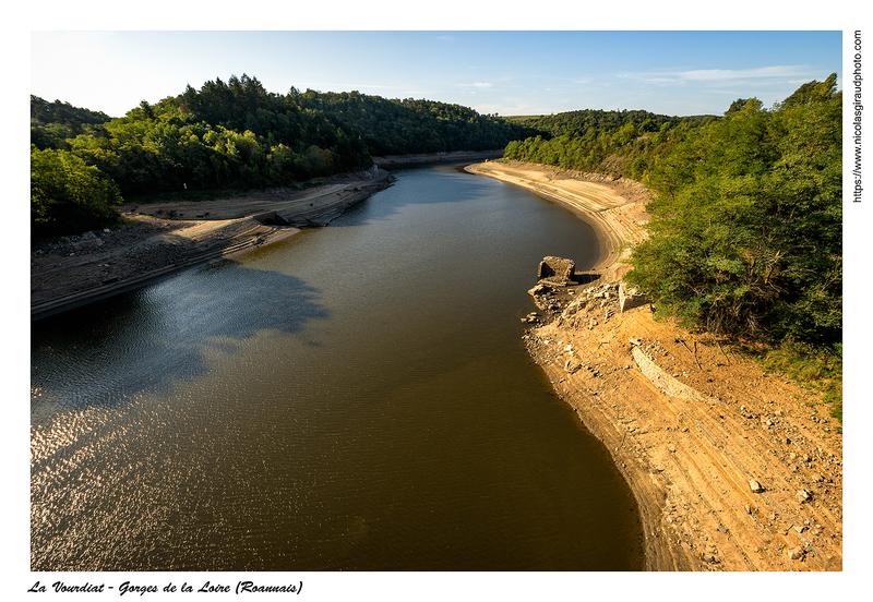 La Loire à sec! (sécheresse)