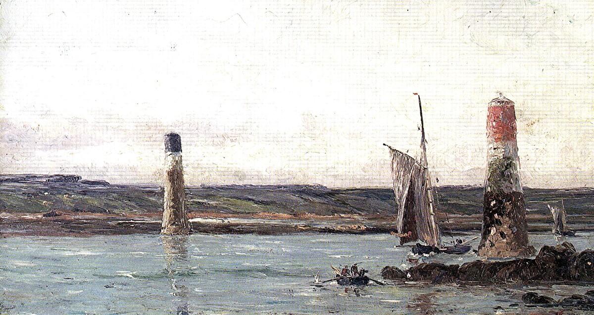 1-Bréhat , terre des artistes