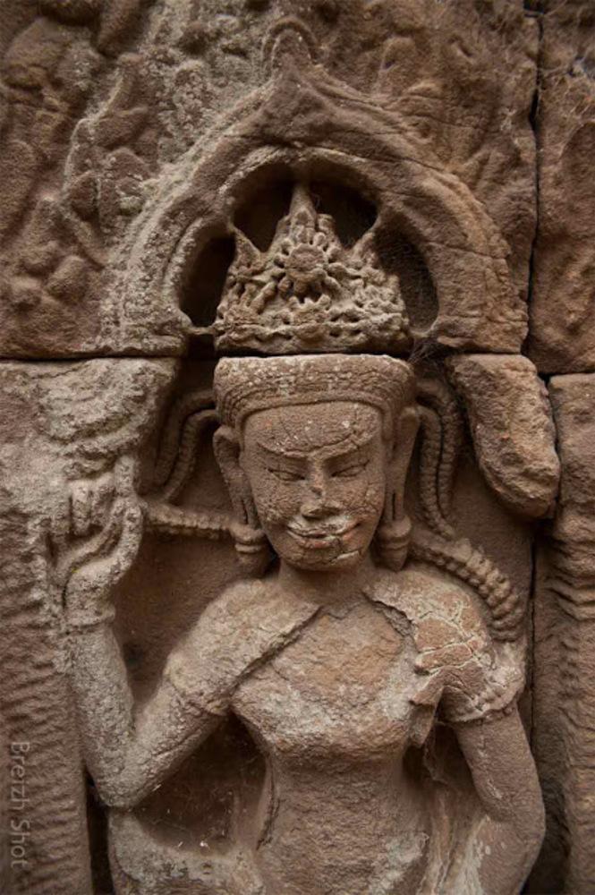 divinité Banteay Prei Nokor