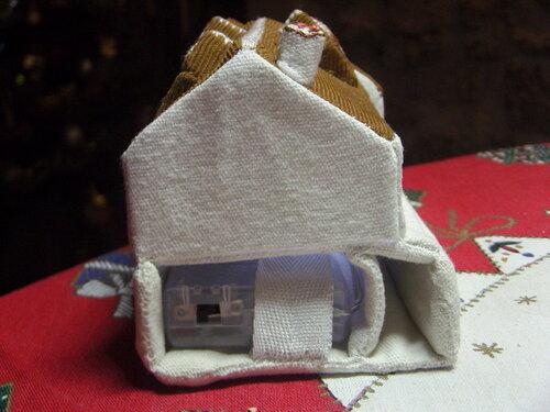 Réalisation d'une maison en tissus