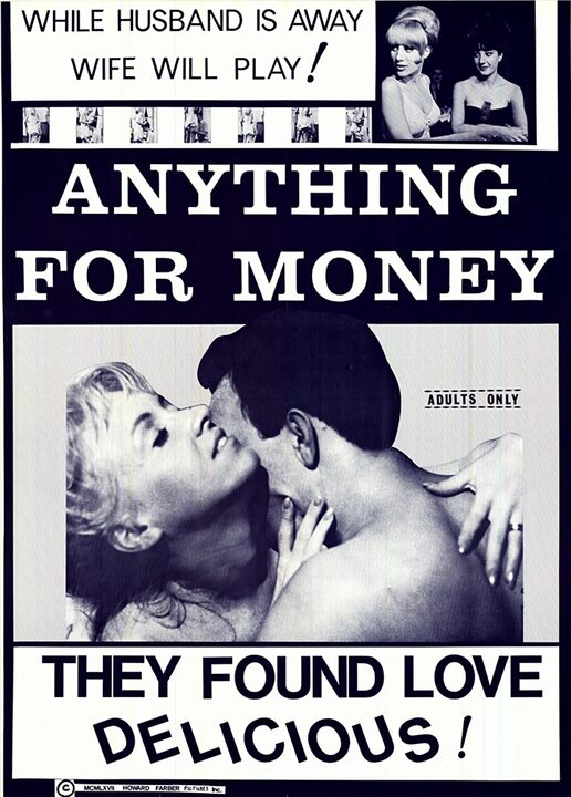 ANYTHING FOR MONEY box office usa 1967