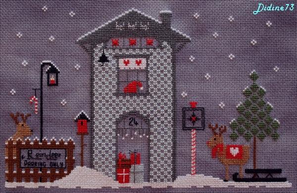 SAL cartes de voeux, étiquettes cadeaux ou bricoles de Noël (M-3) motif-1