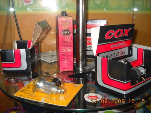 """Les moteurs """" COX """""""