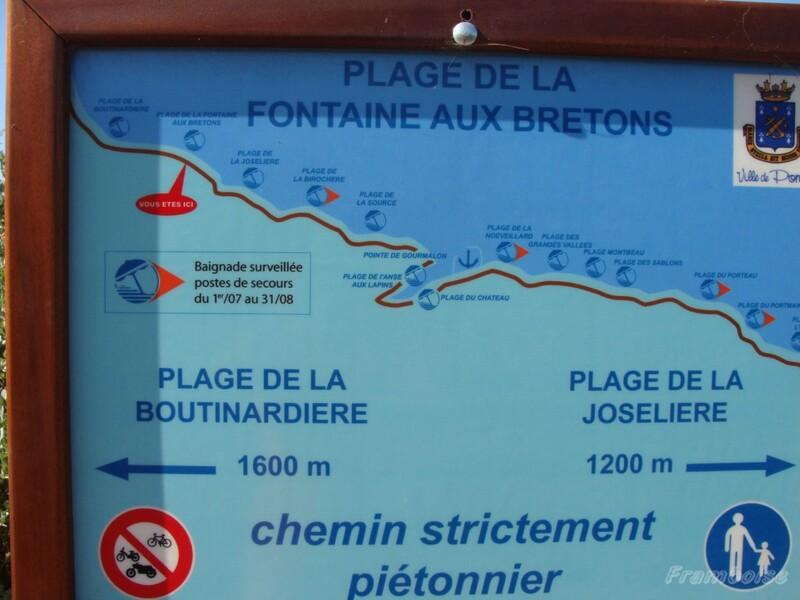 Plage de la Fontaine aux Bretons à Pornic