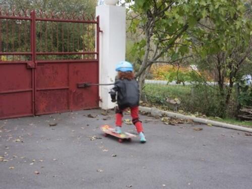 Le skate de marraine