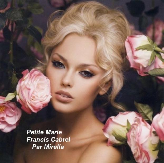 Petite Marie    Francis Cabrel    Par Mirella