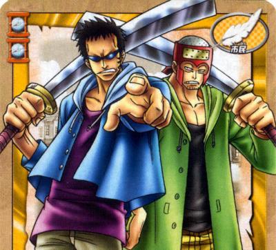 Jonnhy et Yosaku