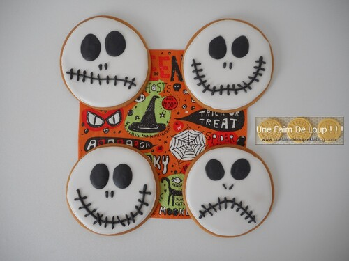 Les sablés Mr Jack Skellington