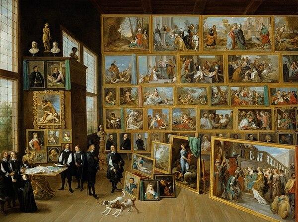 Peinture de : David Teniers, dit le Jeune