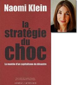 """➤ Extrait du livre """"La statégie du choc"""" - Naomi Klein"""