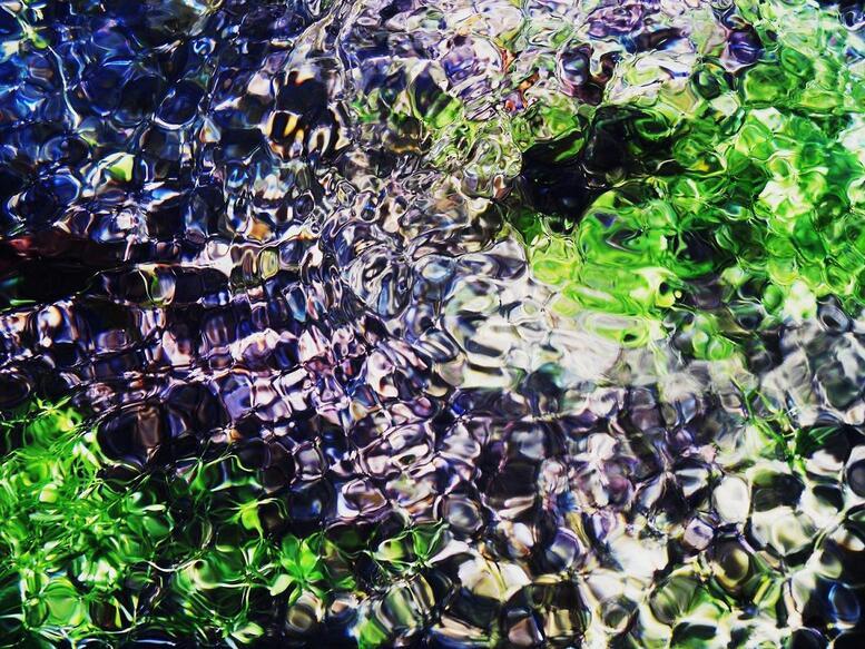 Mosaïques d'eau