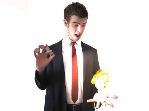 un jeune magicien