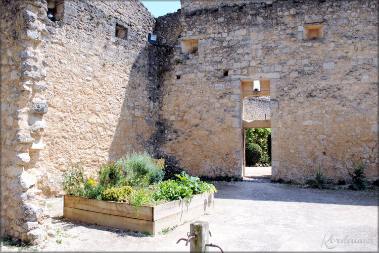 Photo jardin médiéval - Rions - Gironde
