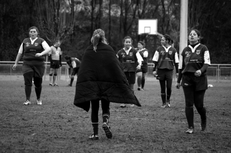 Rugby féminin, stade Malleval, décembre 2012 #6