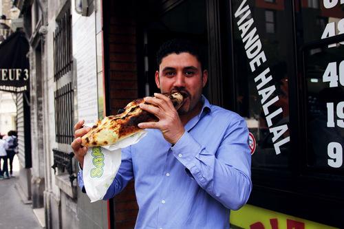 Mokhtar, cuisinier, Pizza Di Napoli