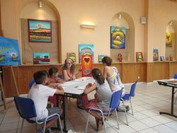 Atelier d'écriture pour enfants