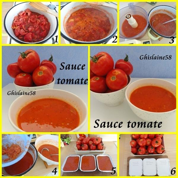 Beaucoup de tomates à conserver