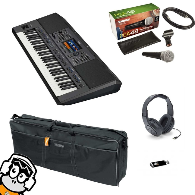 Pack ceadeau PSR SX700 Yamaha