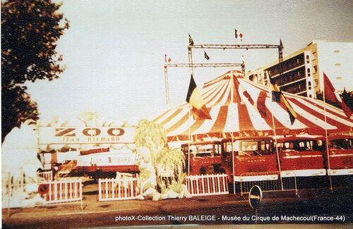 le Nouveau Cirque de Jean Richard  (archives Thierry Baleige)