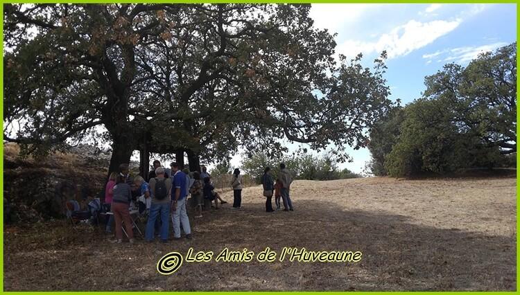 JEP du 17 septembre, l'oppidum des baous de St Marcel