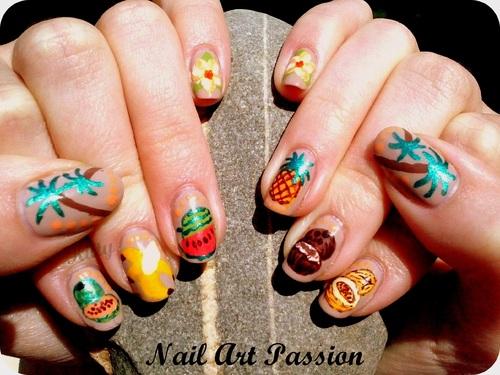 Nail art Guyane - concours !