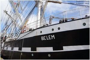 Le Belem à St Nazaire 2014