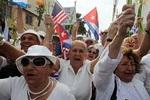 Les Dames en blanc et les sanctions contre Cuba