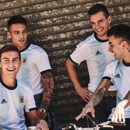 maillot Argentine domicile pour la Copa America 2019