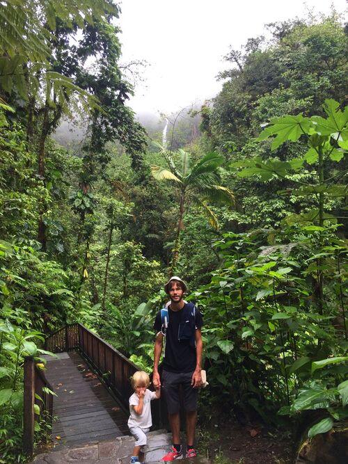 Itinéraire de 4 jours en Guadeloupe... sous la pluie : Sainte-Anne, Chute du Carbet et Capesterre