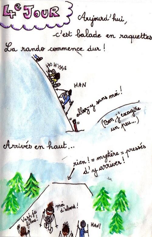 Voyage au ski - 4e jour