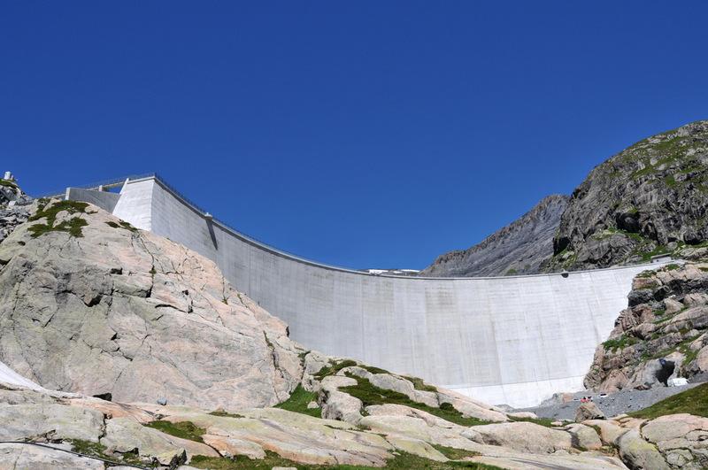 Randonnée : les barrages d'Émosson (3)