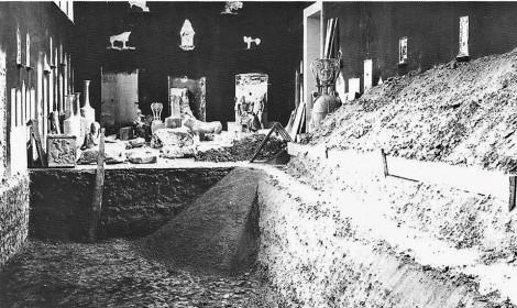 l'ancien Musée de l'Acropole