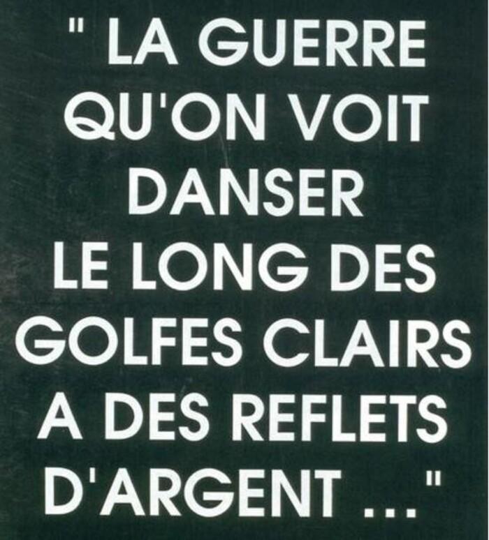 Toujours NON à la guerre  par Jacques CROS