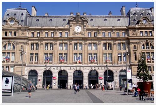 Paris. Gare Saint-Lazarre
