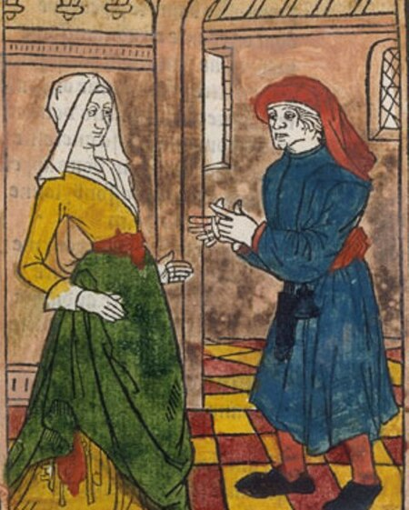 La Farce de Maître Pathelin (vers 1460), gravures et texte PDF
