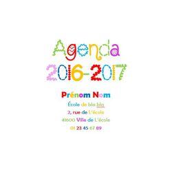 Un agenda rien qu'à moi
