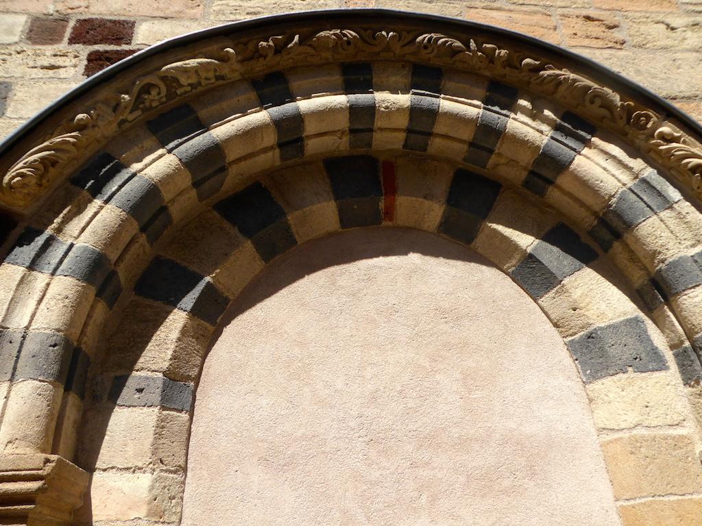 La Basilique de St Julien de Brioude.