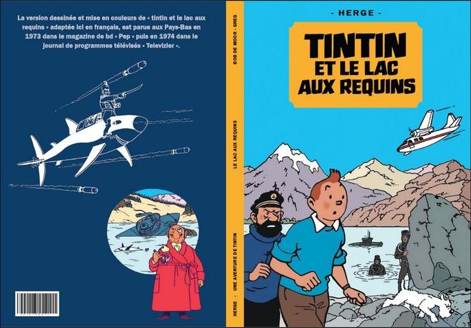 Tintin et le lac aux requins - Version dessinée couleurs
