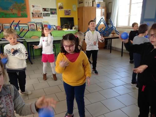 Initiation au jonglage