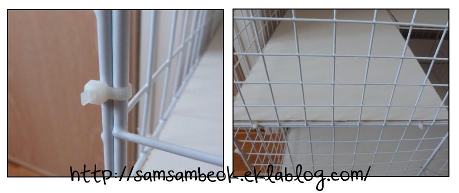 Cube De Rangement Modulable Fly #14: Une Cage Fait Maison Pour Mon Lapin ♥