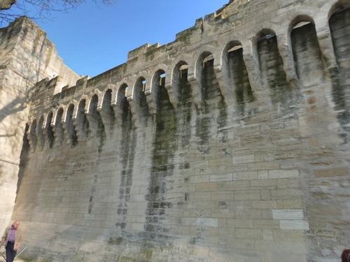 Le Pont St Bénezet en Avignon.
