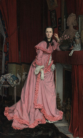 Portrait of the Marquise de Miramon, née, Thérèse Feuillant by Jacques Joseph Tissot, 1866 France, the J Paul Getty Museum