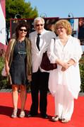 Silvia Scola Scriptwriters Silvia Scola (L), Paola Scola (R) and Film ...