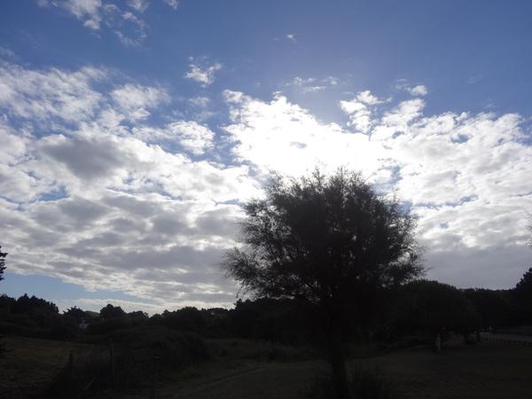L'étang de Brandu au mois de septembre