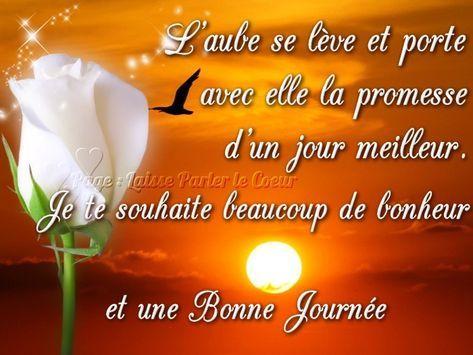 Messages de bonne journée mon amour - Messages d'amour