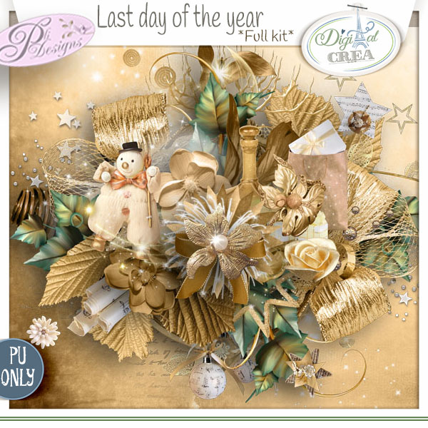 LAST DAY OF THE YEAR by PLI DESIGNS