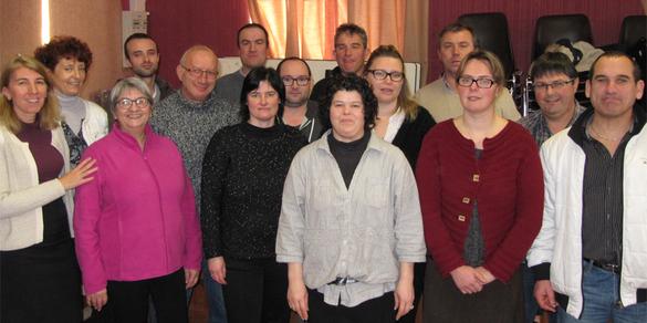 Comité des fêtes : une partie de l'équipe