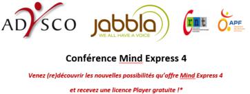 Atelier C-RNT : Conférence Mind Express 4 à Villeneuve d'Ascq le 10 janvier 2017