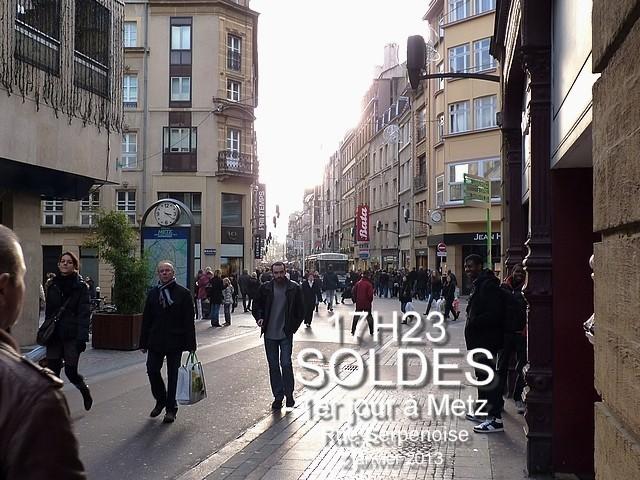Soldes janvier 2013 Metz 4 Marc de Metz 04 01 2013